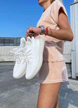 Кросівки yeezy boost 350 white  кроссовки