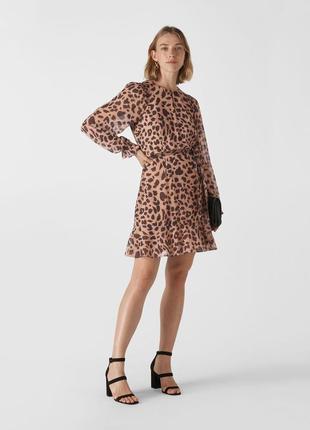 Стильное платье леопардовый принт whistles