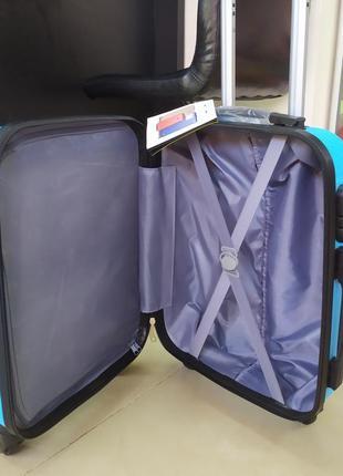 Ручная кладь,маленький чемодан, bagia milano7 фото