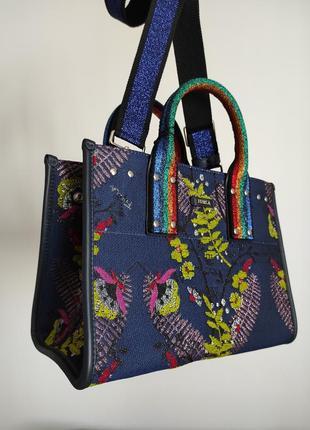 Новая сумка furla erica medium tote яркая фурла тоут оригинал made in italy