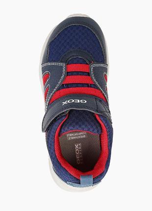 Оригинальные детские кроссовки geox (j157na-0fe14-c0735)5 фото
