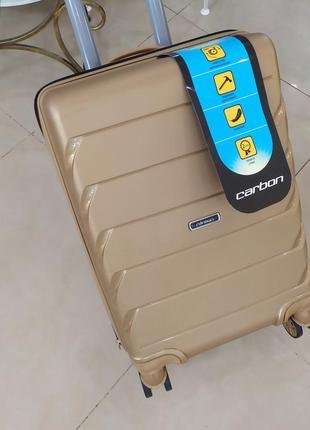 Маленький чемодан ,для ручной клади ,суперпрочный корпус!3 фото