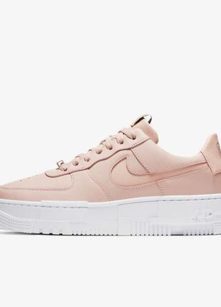 "Кроссовки nike air force 1 pixel ""pink"""