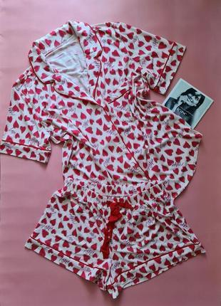 Шикарная пижама от victorias secret victoria's secret виктория сикрет вікторія сікрет