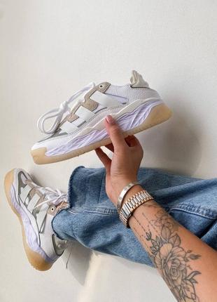 Adidas ad niteball white кроссовки адидас  наложенный платёж купить