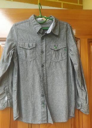 Стильна сорочка для хлопчиків1 фото