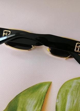 Эксклюзивные брендовые металлические шикарные солнцезащитные женские очки с пирсингом 20214 фото