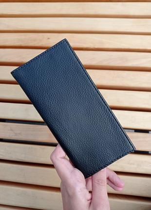 Чёрный черный компактный кошелёк кошелек