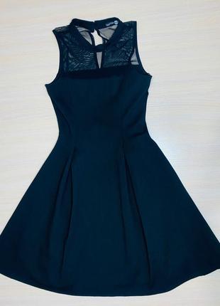 Маленькое чёрное платье boohoo 6 42 xs