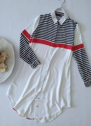 Платье-рубашка polo
