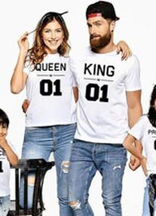Футболки королевская семья  фп004071