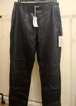Женские штаны под кожу батал