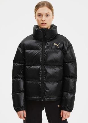 Куртка пуховик puma shine down jacket