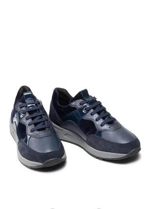 Оригинальные женские кроссовки geox (d15nqb-0fp22-c4002)3 фото