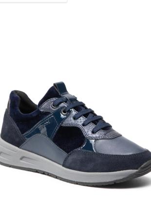 Оригинальные женские кроссовки geox (d15nqb-0fp22-c4002)2 фото