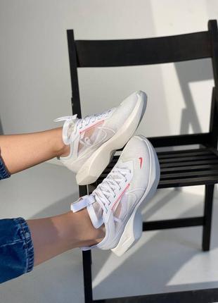 Женские кроссовки жіночі кросівки nike vista lite white red