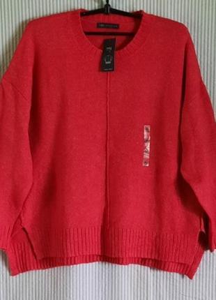 Обалденно красивый свитерок на пышные формы   m&s...