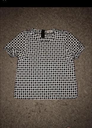 Блуза блузка топ топик футболка некст next