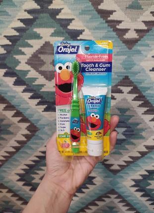 Набор зубная паста и зубная щетка