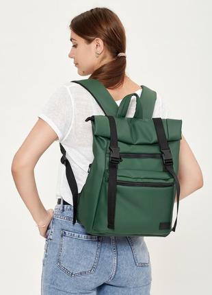 Мужской рюкзак ролл sambag rolltop ltt зеленый