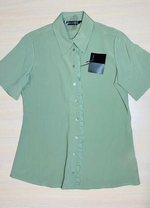 Рубашка блуза оливка 48 l