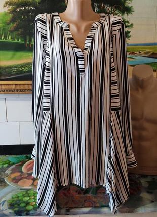 Блуза 💯% вискоза батал,блузка большого размера 22,рубашка,распашонка.