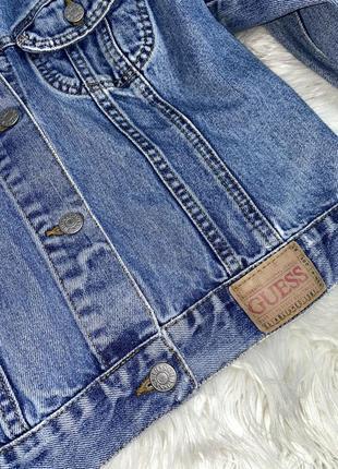 Джинсовка,джинсовая куртка,куртка guess з рваностями