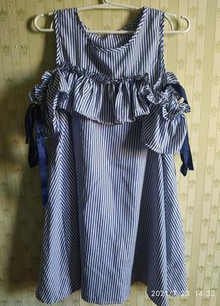 Красивенное летнее платье,воланы, размер универсальный с-л, отлично подходит беременым.
