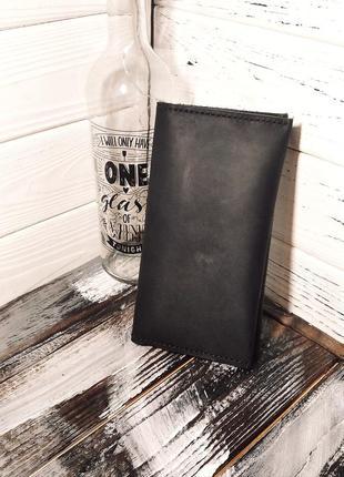 Гаманець, портмоне із натуральної шкіри ручної роботи