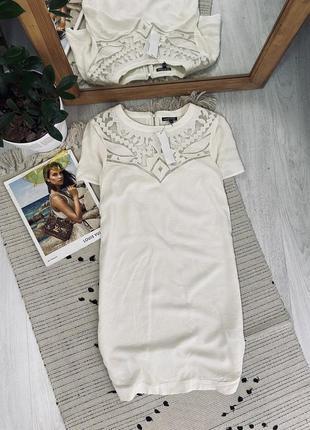Красиве платтячко з натуральної тканини від warehouse,нове🌿