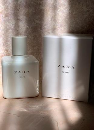 Духи zara femme /туалетна вода /парфюм /туалетная вода