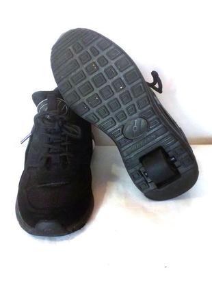 Роликовые кроссовки на колёсиках / ролики heelys, сша, р.34 код w3454