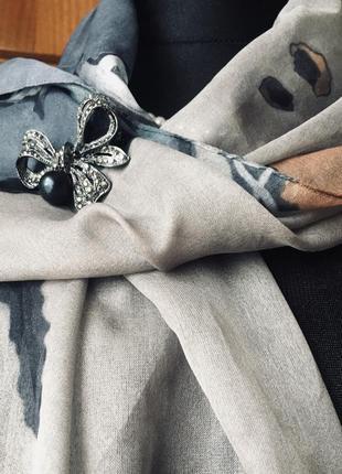 Шикарный шифоновый шарф