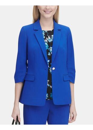 Невероятно крутой стильный голубой пиджак жакет calvin klein
