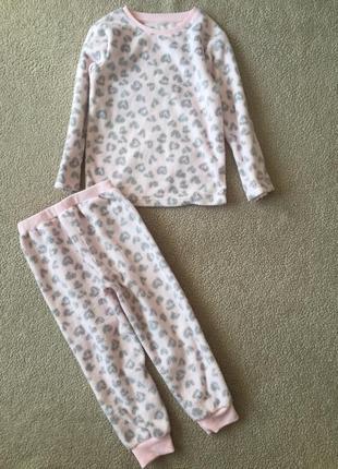 Нежная мягкая пижама f&f