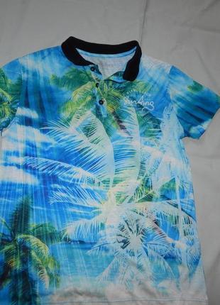 Outlaws футболка модная на мальчика 13-14 лет рост 158-164 см