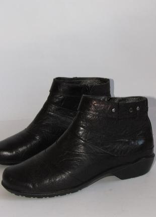 Romika кожаные женские ботинки  t20