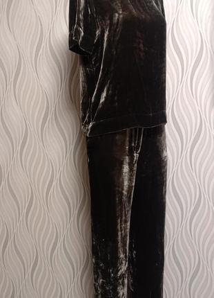 Cos шикарный велюровый костюм