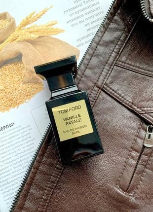 Tom ford vanille fatale оригинал_eau de parfum 2 мл затест распив отливанты