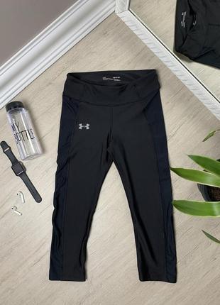 Under armour андер амур велосипедки шорты спортивные оригинал чёрные