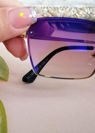 Эксклюзивные брендовые солнцезащитные женские очки в металлической оправе 2021 капелька клея ньюанс3 фото