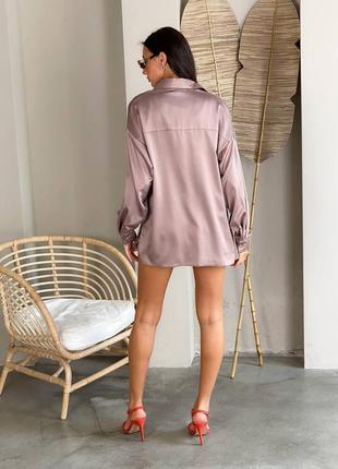 Комплект рубашка и шорты (чёрный и беж)10 фото