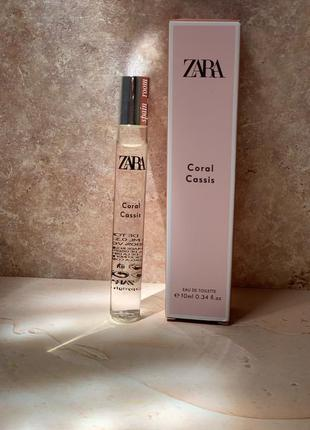 Духи zara coral cassis /жіночі парфуми /туалетна вода