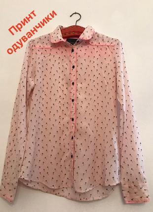Рубашка,одуванчики