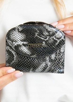 Кожаный кошелёк lorenti натуральная кожа