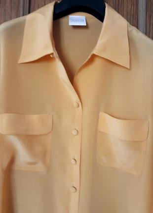 Шикарна блуза 100% натуральний шовк, оверсайз