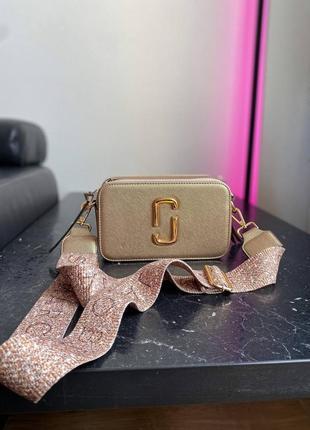 🔥🔥🔥женская сумка в стиле marc jacobs gold ll