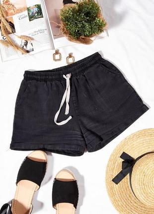 Летние женские шорты темно-серые, літні жіночі шорти темно-сірі