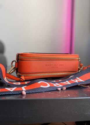 🔥🔥🔥женская сумка в стиле marc jacobs orange ll7 фото