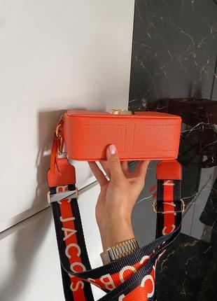 🔥🔥🔥женская сумка в стиле marc jacobs orange ll4 фото